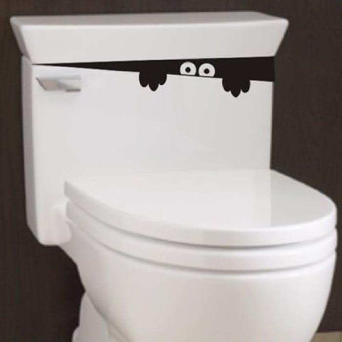 Cute Toilet Sticker