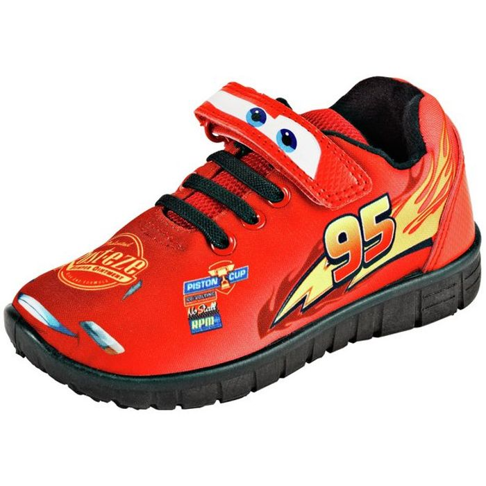 Cars Red Novelty Trainers - Size 8/9/12