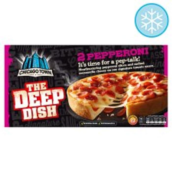 Chicago Town 2 Deep Dish Pizzas