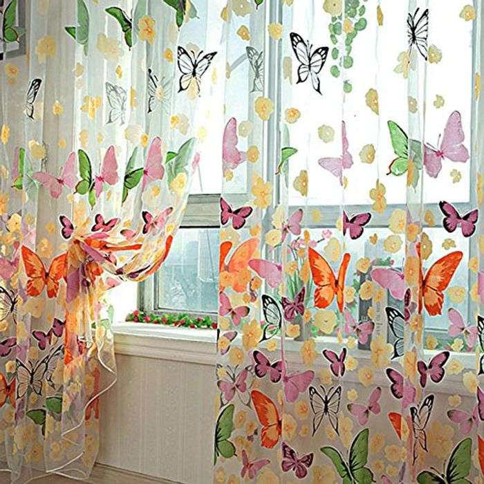 Butterfly Sheer Voile Inc Delivery
