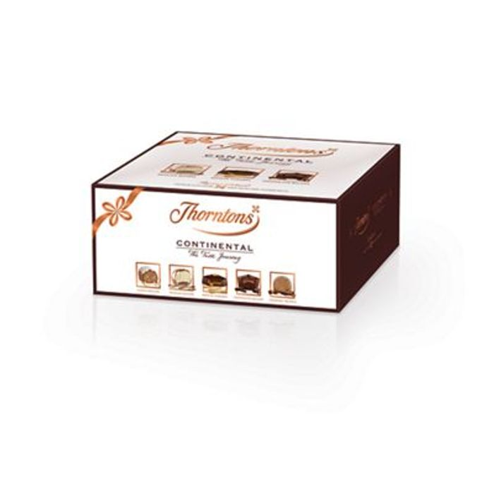 FREE Thorntons Continental Chocolate Parcel (432g) worth £15 - via Topcashback