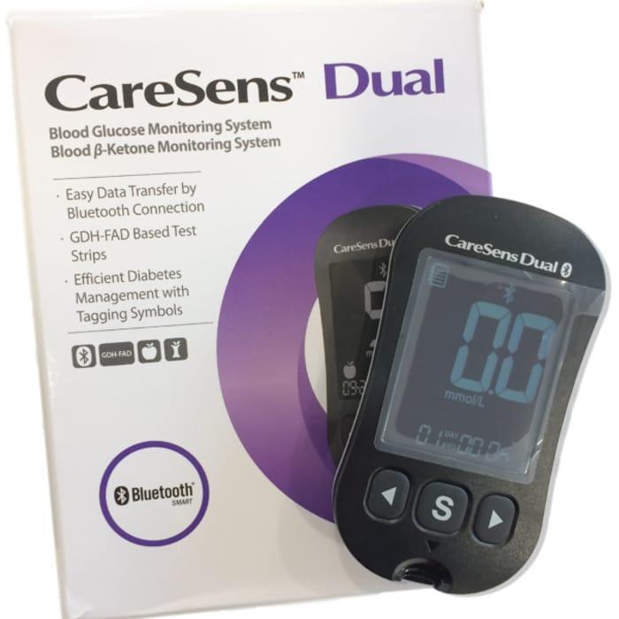 FREE CareSens Dual Blood Glucose & Ketone Meter (Worth £18.99)