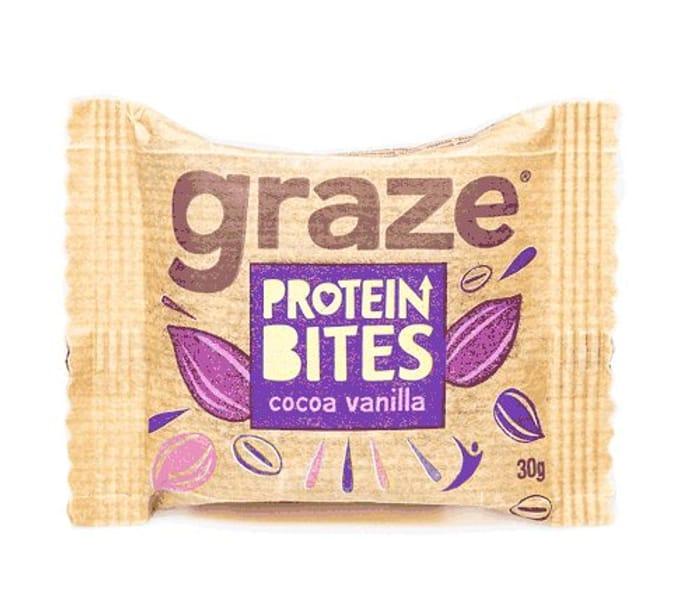 Graze *Cocoa & Vanilla* Protein Bites 30g 5 for £1.00