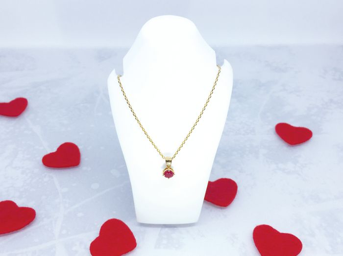 WIN This Delightful Ruby Pendant worth £450.00