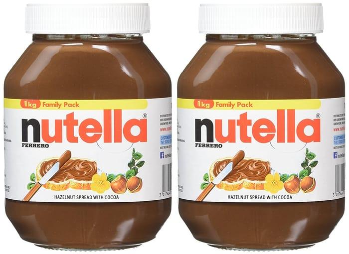 FERRERO Nutella Hazelnut Chocolate Spread,1kg (Pk of 2),FREE Delivery with Prime