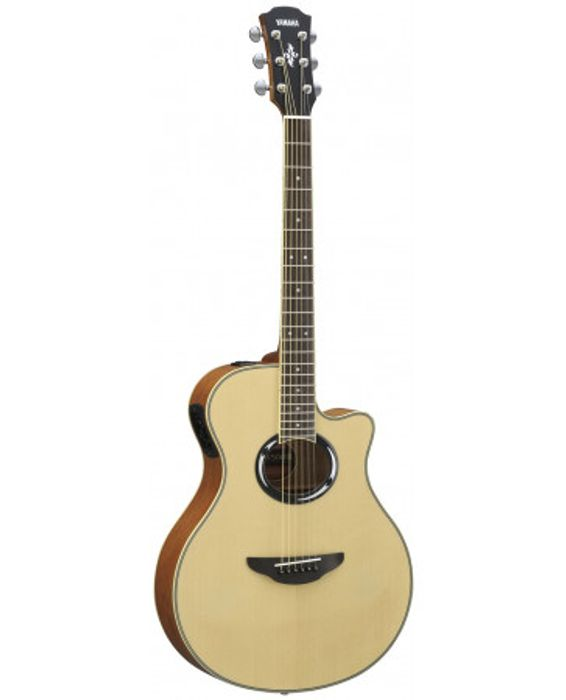Yamaha Apx 500 Iii Natural Semi Acoustic