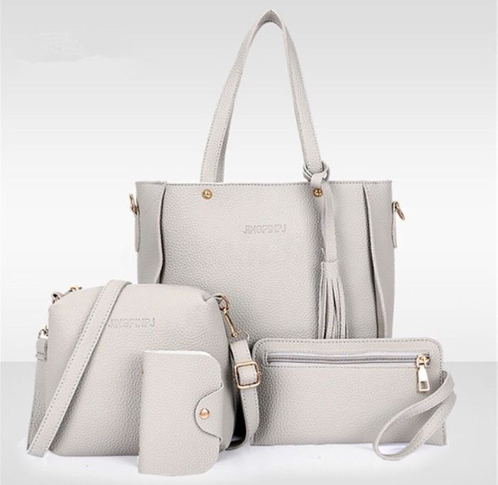 4 Pc Handbag Set (£1 Delivery!)