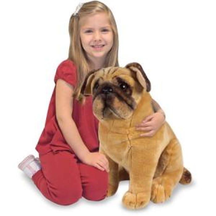 £10 Melissa & Doug Pug Dog Plush Toy at Amazon