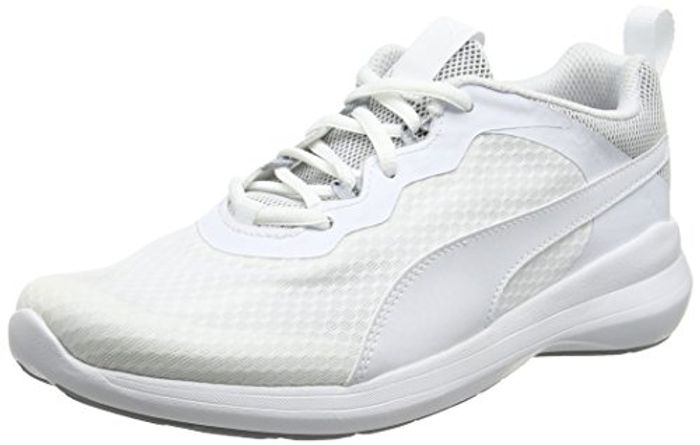 Puma Unisex Adults' Pacer EVO Low-Top Sneakers (UK 12 White Only)