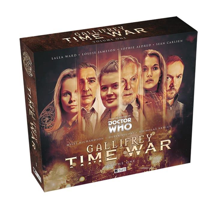 Win Gallifrey Time War Cd Box Set
