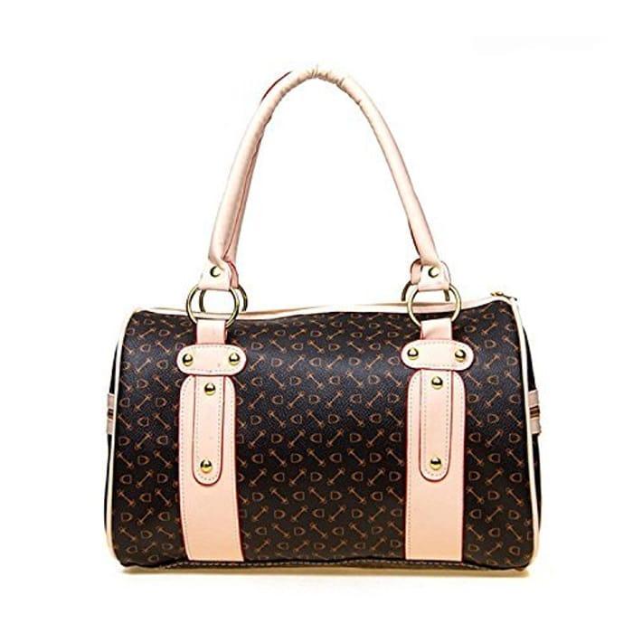 Women Faux Synthetic Leather Handbag (See Description)