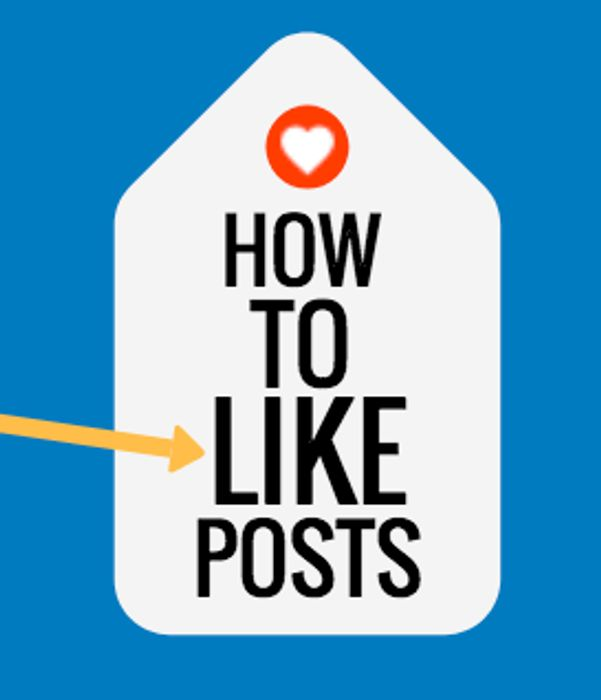 How to like a Post on Latest Deals (New Design)