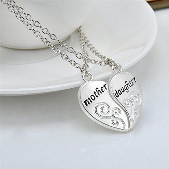 Gorgeous Mother and Daughter Necklace Set.