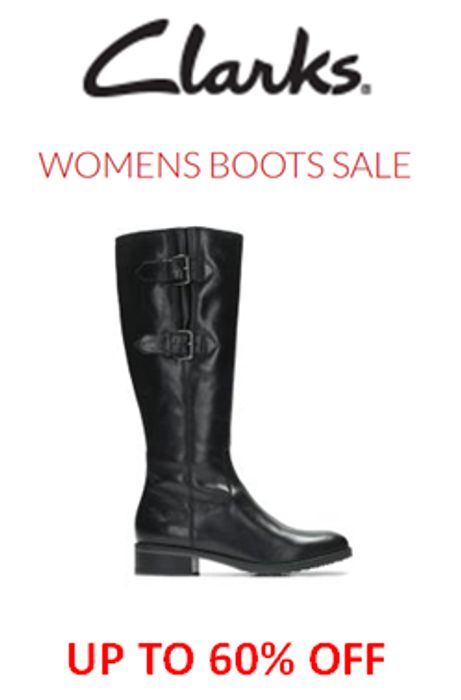7d909cf6b Clarks WOMEN S BOOTS SALE - up to 60% OFF