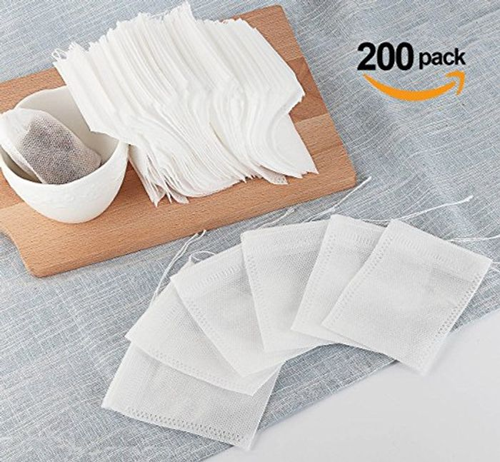 200 Pack Tea Bags Disposable
