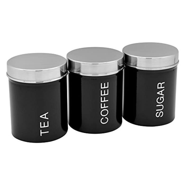 Great Quality Tea Coffee Sugar Caddies.