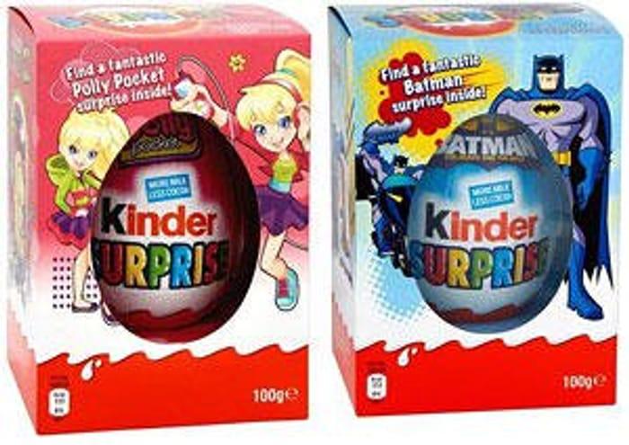 Kids Giant 100g Kinder Easter Eggs