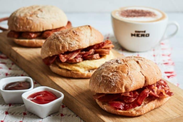 Free Coffee At Caffè Nero When You Buy A Breakfast Ciabatta