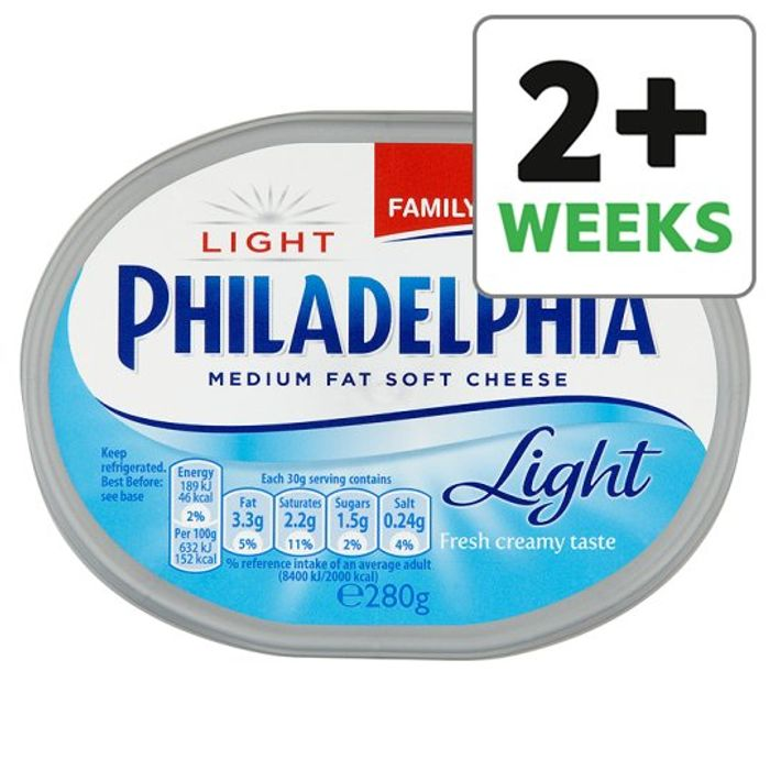 Philadelphia Light Soft Cheese 280 G