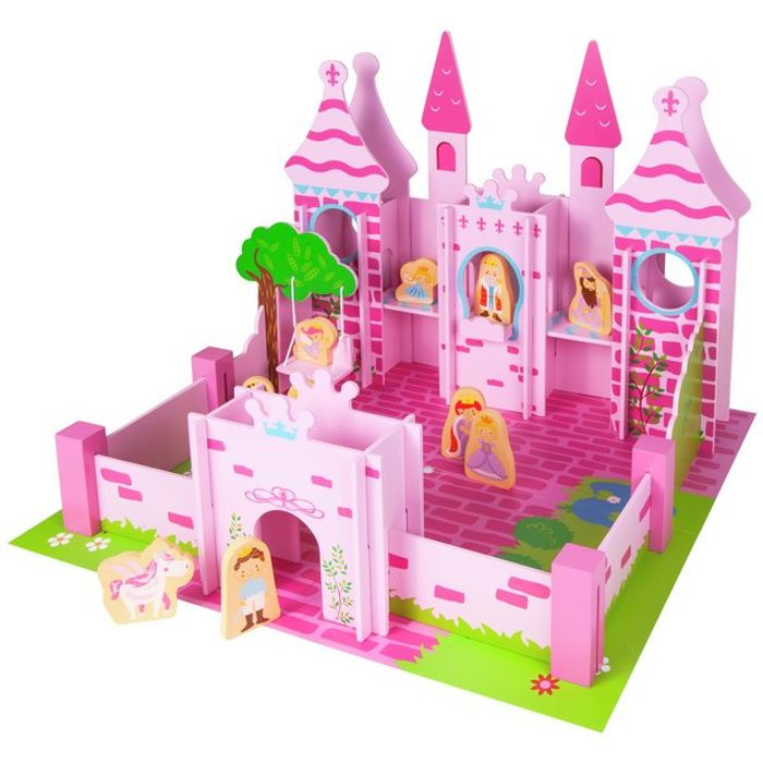 Chad Valley Wood Shed Fairy Castle Playset