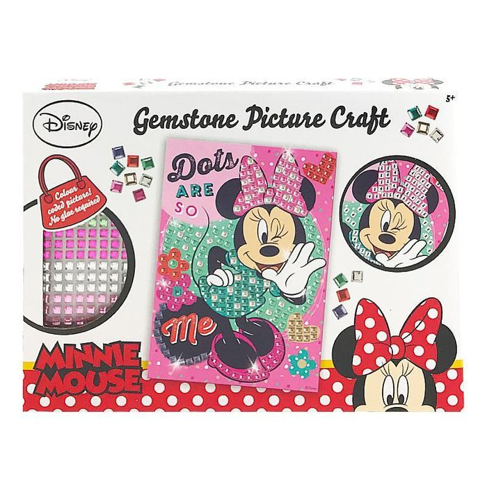 Minnie Mouse Gemstone Picture Craft