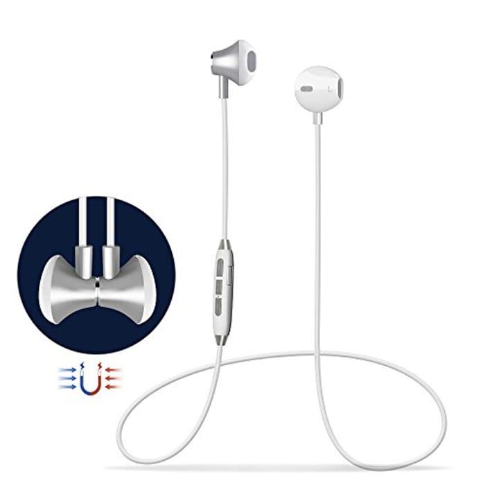 Bluetooth Headphones Magnetic Wireless Sports Headphones