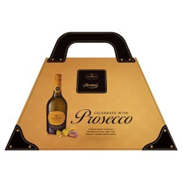 Thorntons Celebrate Handbag Bottle Of Prosecco 750ml