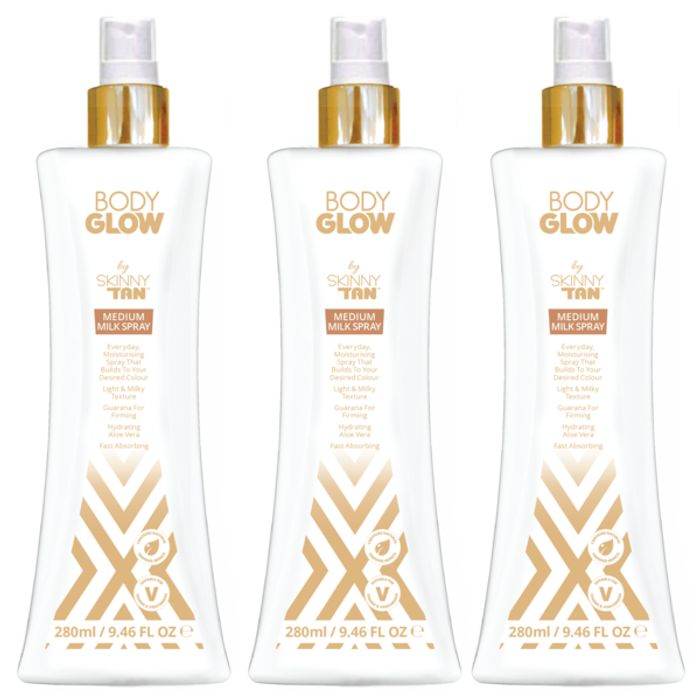 Skinny Tan - Moisturising Creme or Spritz Tan - 3 for £15 + FREE Delivery