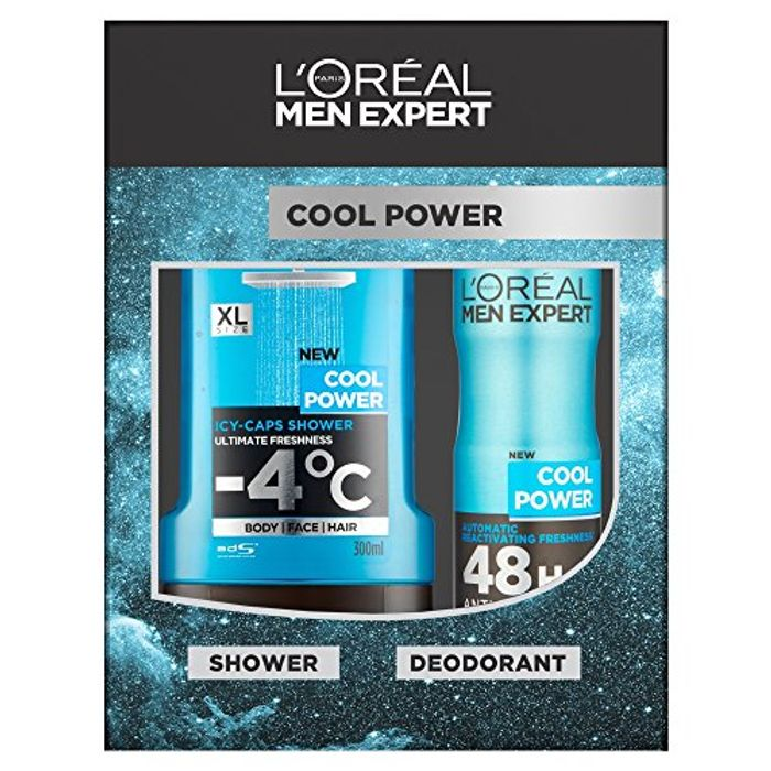 L'Oreal Men Expert Cool Power 2-Piece Gift Set