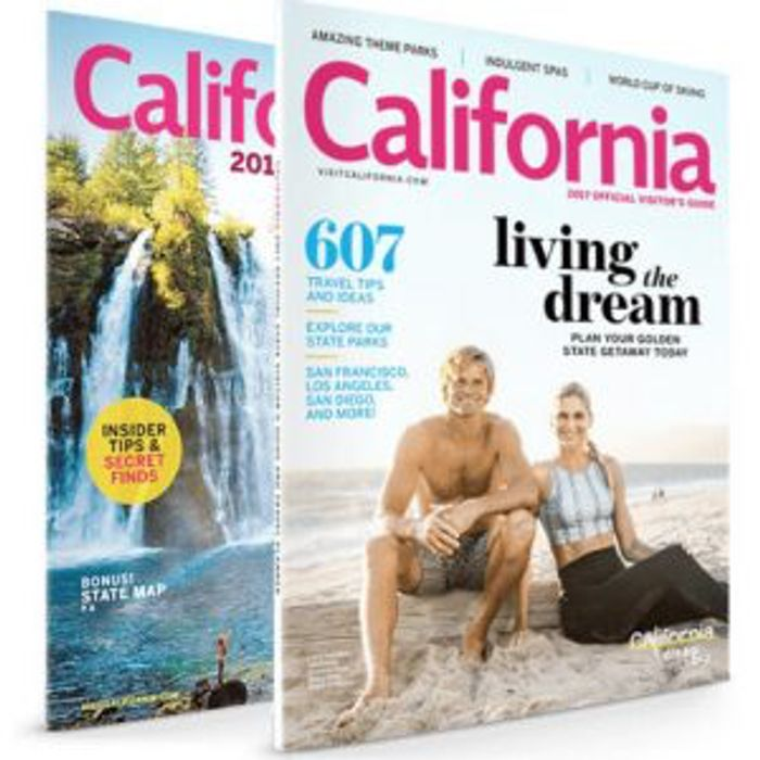 Free California Travel Guide and Road Map