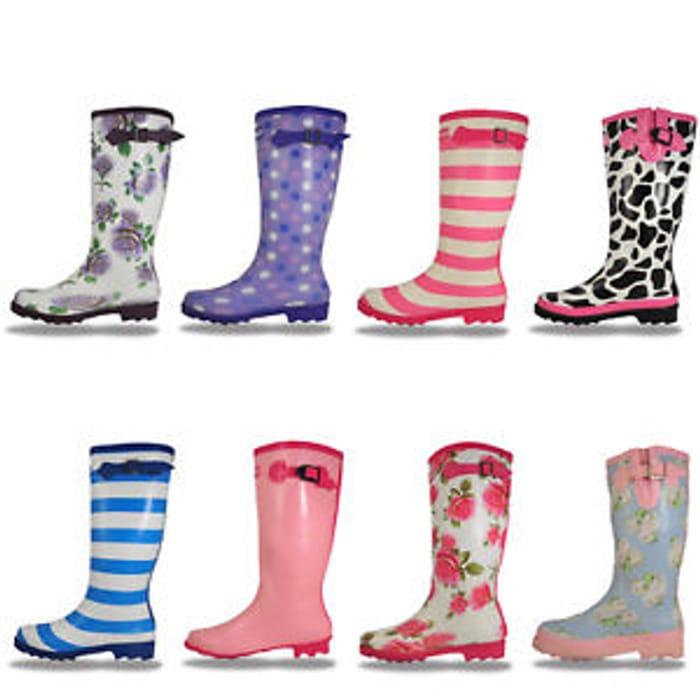 Cotswold Womens Girls Waterproof Walking Wellington Boots from £7.99 Free P&P