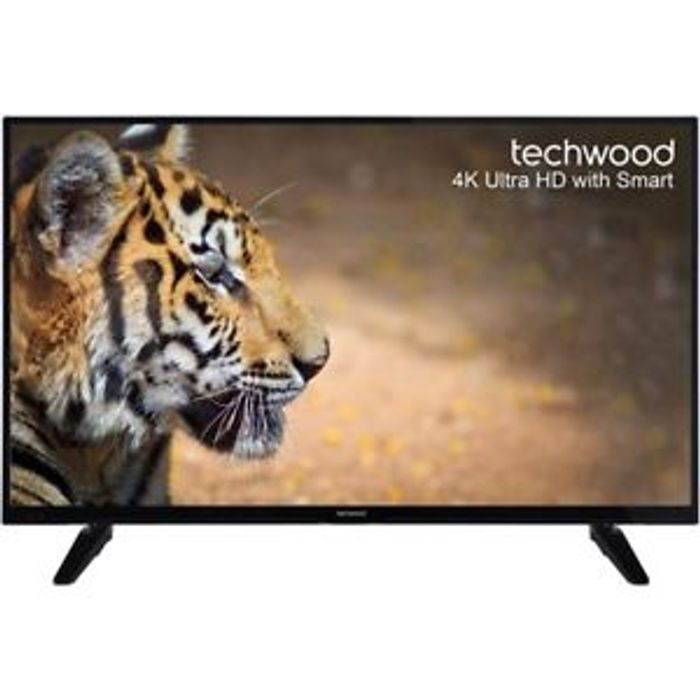 Techwood 49 Inch Smart LED TV 4K Ultra HD Freeview HD at AO/ebay