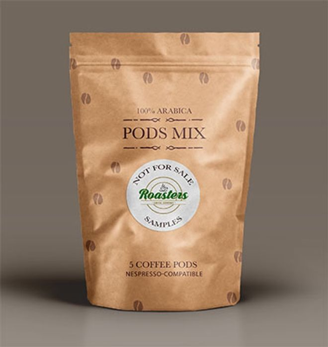 Free! Roasters Coffee Pod Pack (Nespresso Compatible)