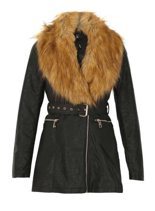 Izabel London Black Coat Size 8