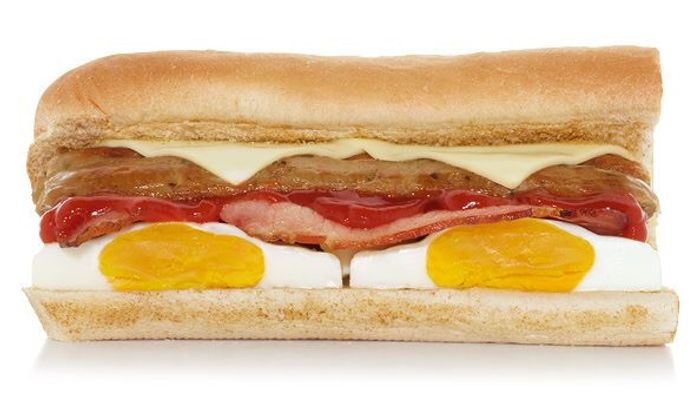 FREE Subway 6-Inch Breakfast Sub When You Buy a Hot Drink (Greater London Only)
