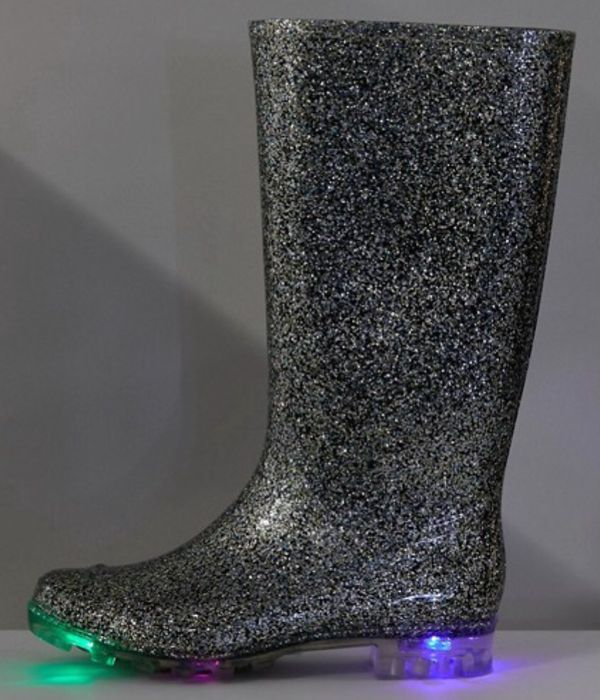 66fdce05c98c ASOS Glow - Glitter Light up Wellies - Free Delivery, £22 ...