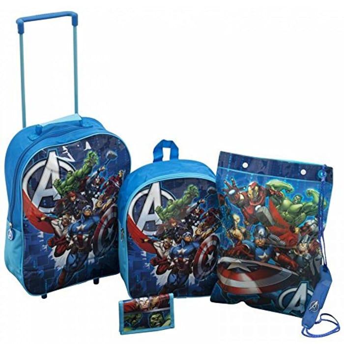 Marvel 4 Piece Bag Set