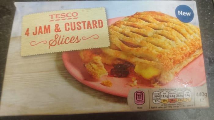 4 Jam and Custard Slices
