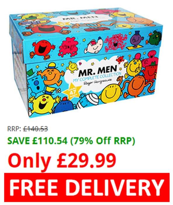 EVERYONE LOVES MR. MEN! Box Set 47 BOOKS! save £110!