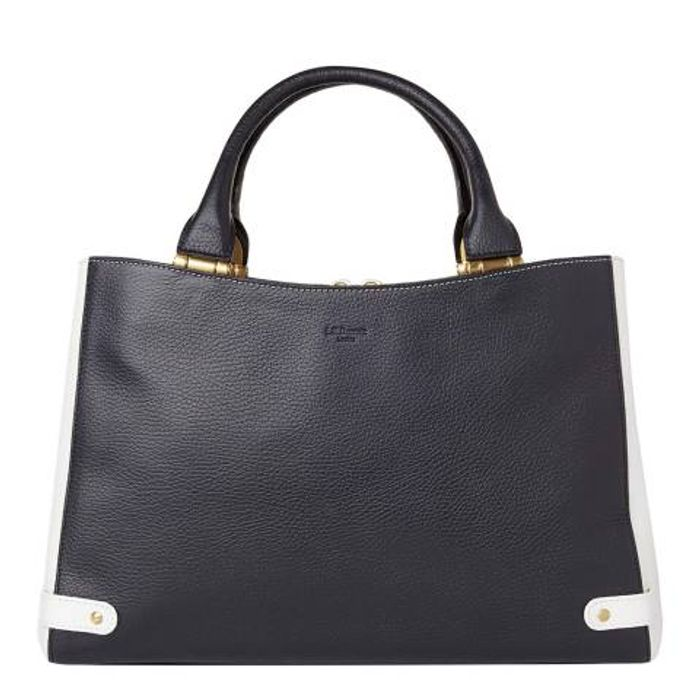 L K Bennett Tote with Hinge