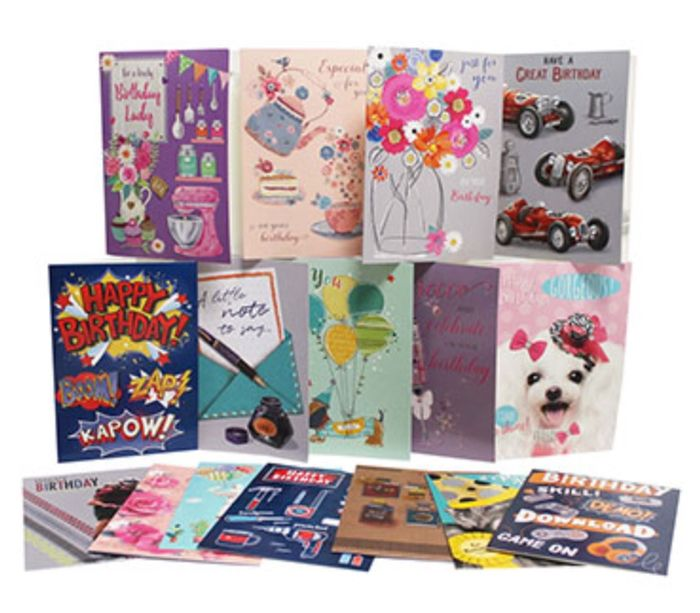 10 Greeting Cards for £1 at the Works (Save £4.90)