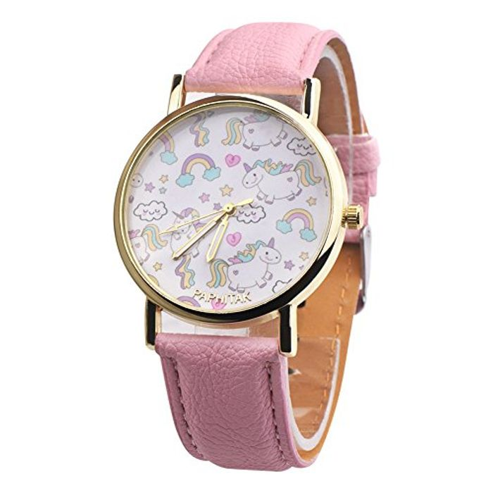 Girls / Ladies Unicorn Watch - 6 Colours Available - 43p + £1 Delivery