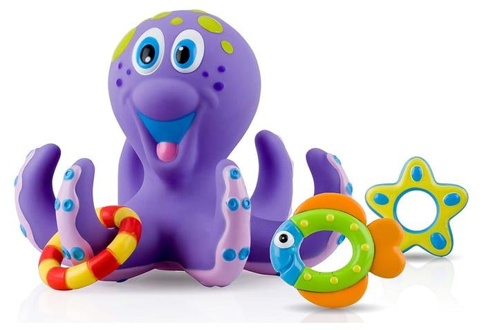 Nuby Octopus Floating Bath Toy - a GOOD PRESENT!