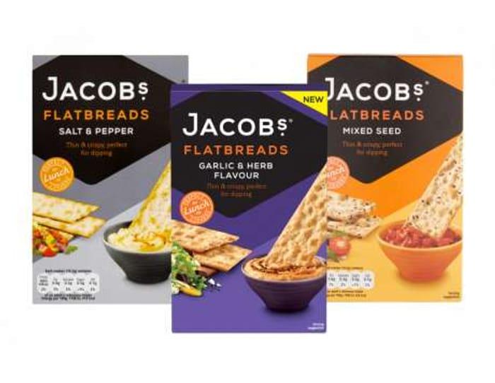 Free Jacob's Flatbread Crackers