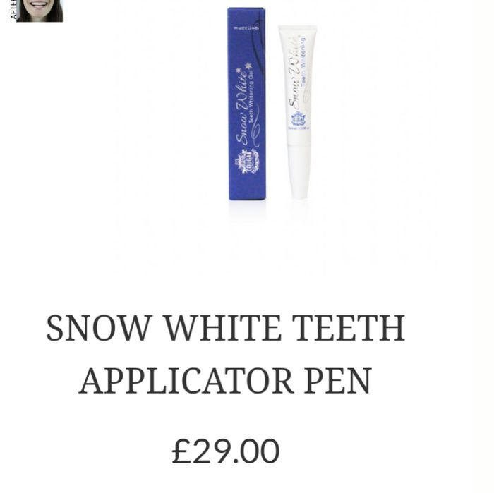 Free Cougar Snow White Teeth Applicator Pen