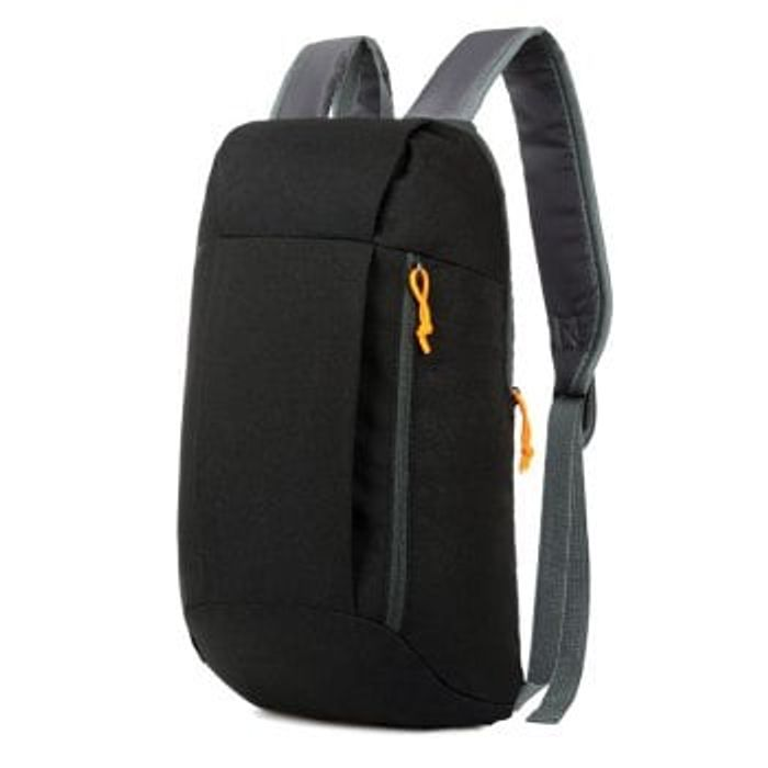 Water-Resistant Nylon 10L Travel Ultra-Light Leisure Backpack £3.75 Delivered!