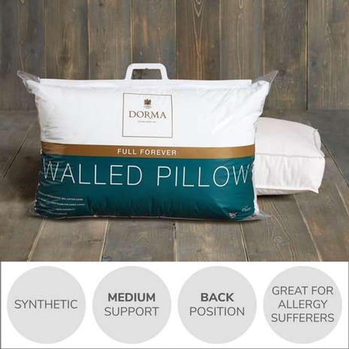 Dorma Full Forever Walled Pillow