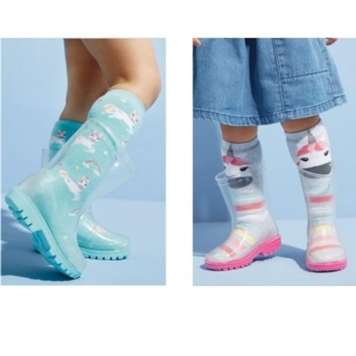 £9 Size 3-6 Clear Wellies (Younger Girls) at Next