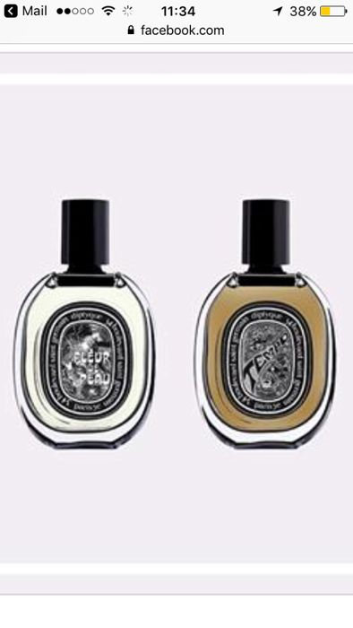 Diptyque Fragrance Sample (Facebook)