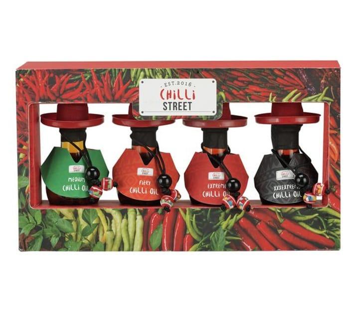 Chilli Street Chilli Oil Set - Mild to Very Hot! - save 64%